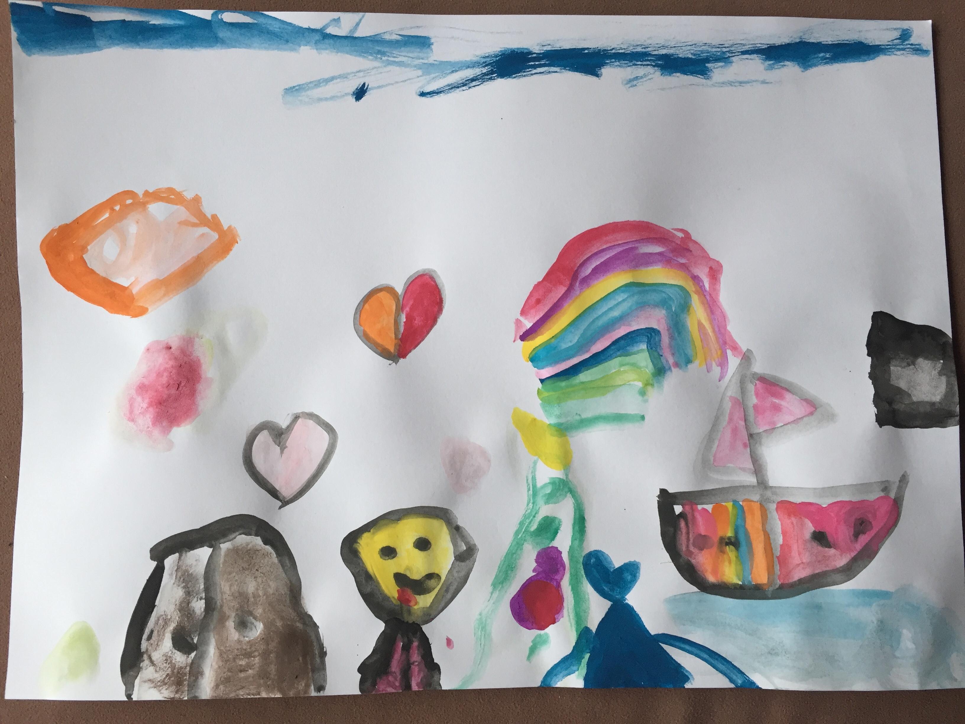 Kunst van mijn dochter