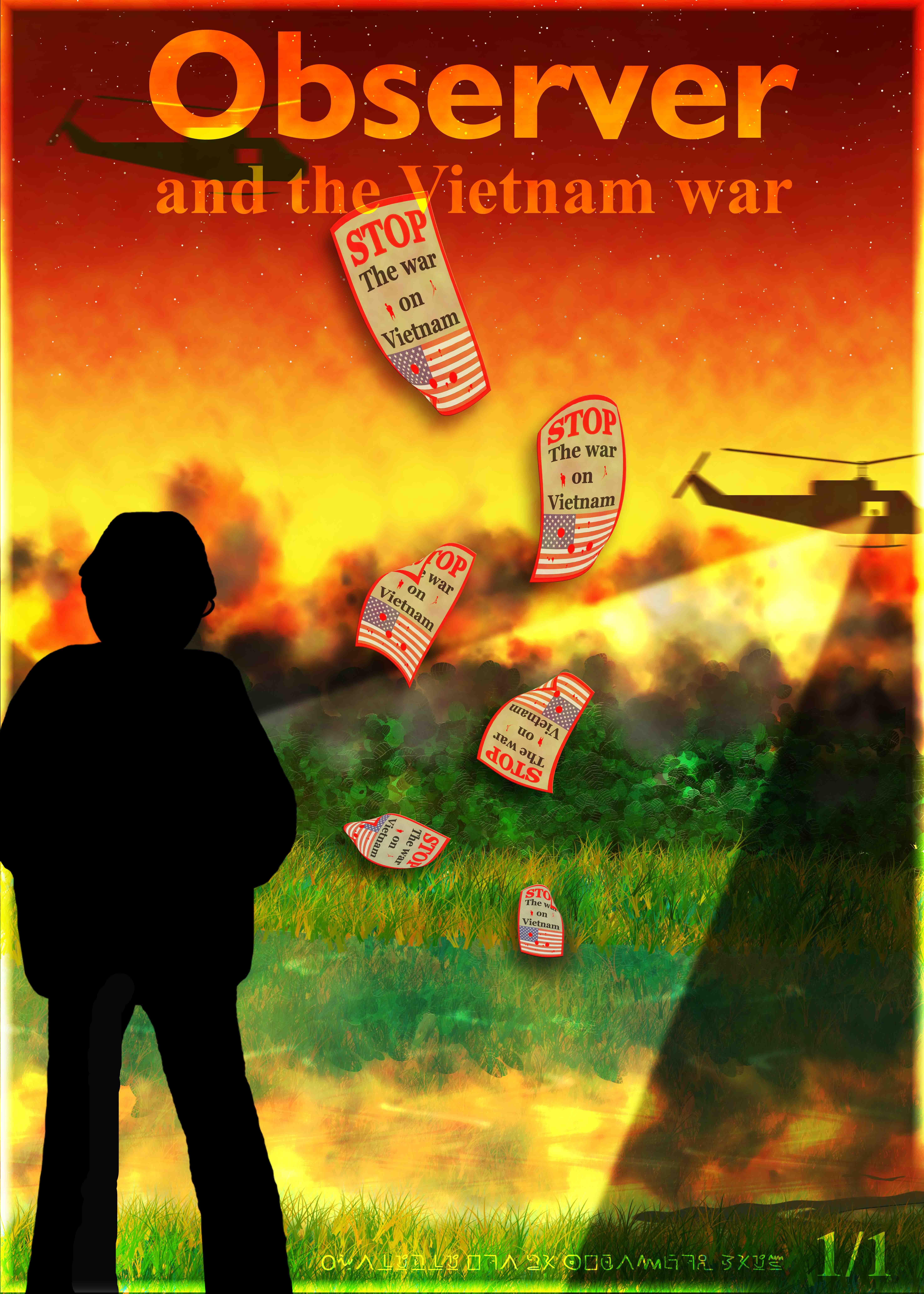 Observer and the Vietnam war.